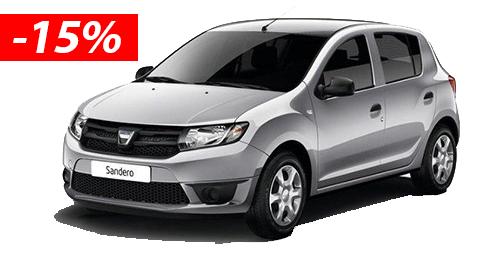 Dacia Sandero 15%