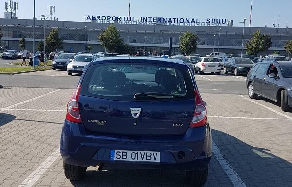 Cum poti inchiria o masina la Aeroportul International Sibiu