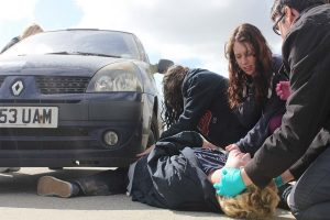 primul ajutor medical in caz de accident rutier