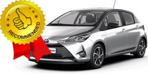 Toyota Yaris Hybrid masina recomandata