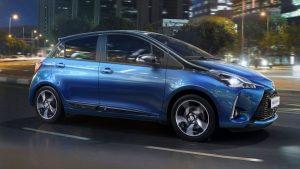 Toyota Yaris - vehiculele hibrid