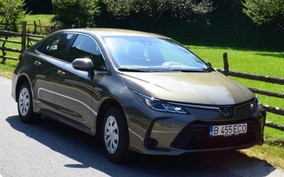 Toyota Corolla Hybrid – O masina ideala pentru calatorii